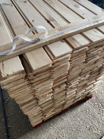 Podbitka sosnowa boazeria 50m2 szalowka 14m dl1.2m mix 1/2gat