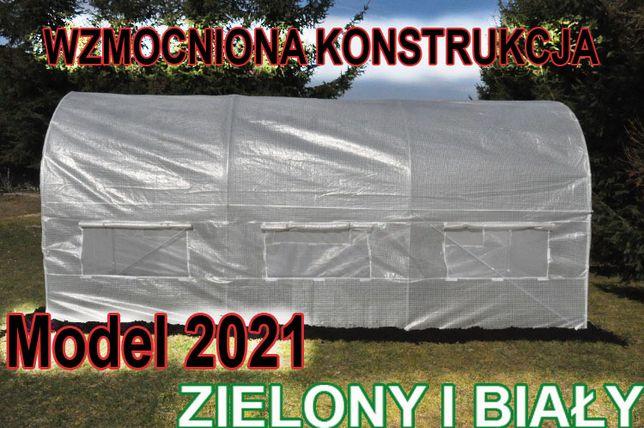 2,5x4 MOCNY UV5+ Tunel foliowy ogrodowy Szklarnia foliak na warzywa