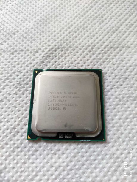 CPU Intel Core 2 Quad Q8400 2.66 GHz