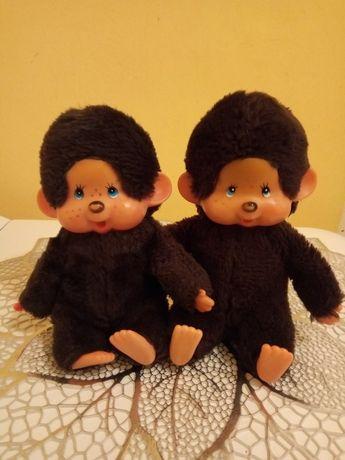 Kolekcjonerska japońska małpka MONCHHICHI z lat 80-tych dostępne 2szt.