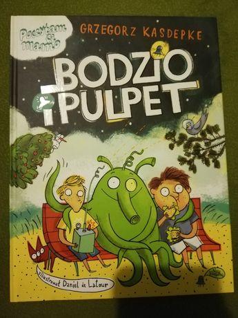 Bodzio i Pulpety książka