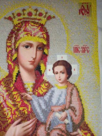 Вишита ікона Божої Матері