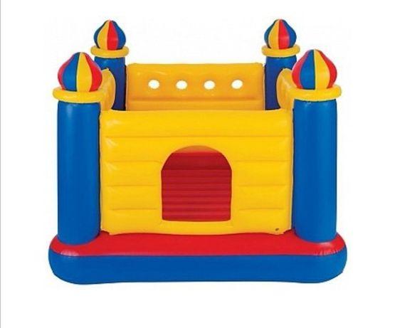 Надувной детский батут Intex Замок