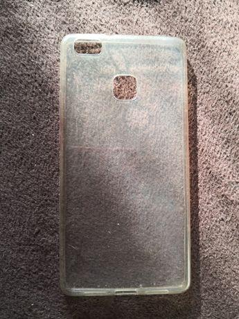 Przezroczysty case etui na telefon Huawei p9 lite silikonowy gumowy