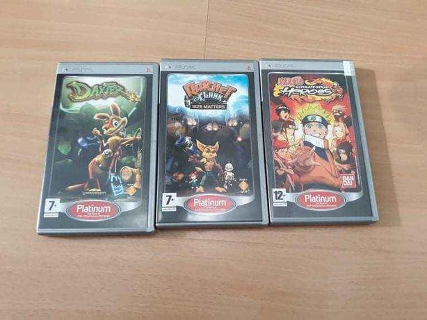Conjunto de Jogos PSP