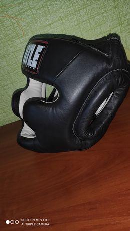 Шлем боксерский TITLE
