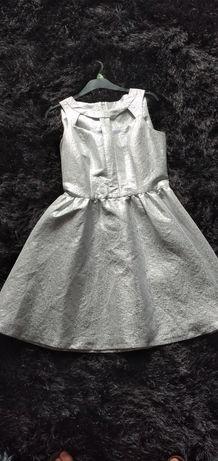 Sukienka srebrna mohito 38