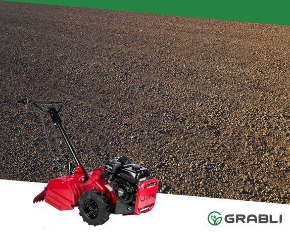 Usługi glebogryzarką, zakładanie trawnika, pielęgnacja trawników