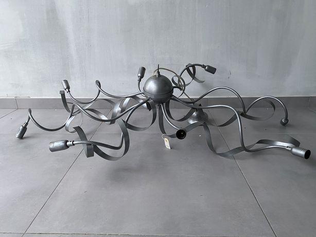 Lampa sufitowa nowczesna pająk krecona