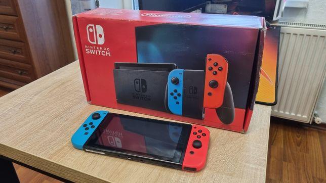 Nintendo Switch Neon blue/red V2 (обновленная версия)