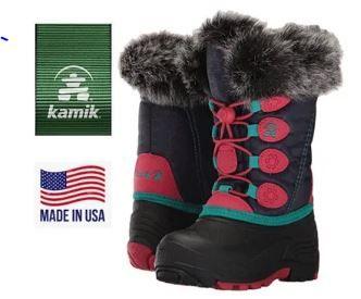 Термосапожки для девочки KAMIK