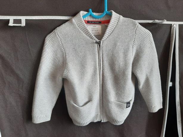 Sweterek Zara 80 cm