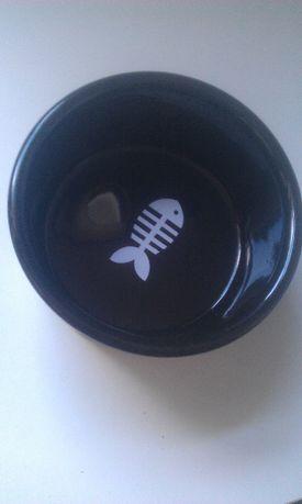 Ceramiczna miska dla psa FishBone