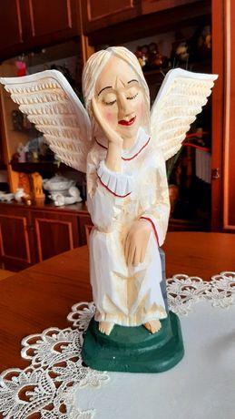 Anioł rzeźba ludowa Stanisław Suska