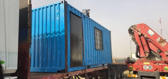 Доставка контейнера/вагончика
