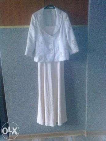 Elegancka sukienka+żakiet,jak nowe
