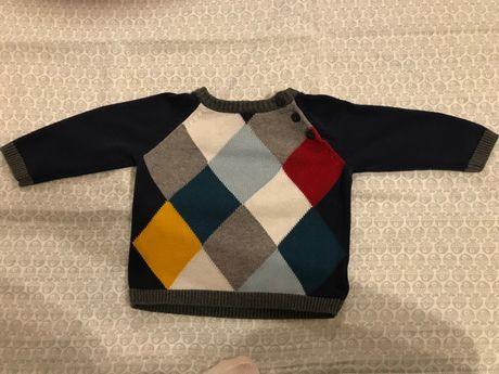 Sweterek firmy H&M rozm. 68