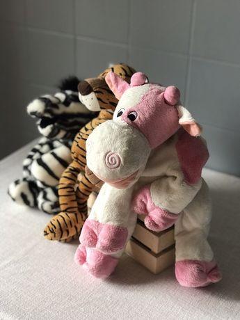Іграшки Diney зебра корова тигр