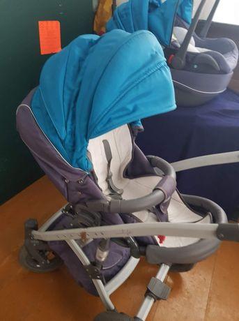 Wózek 3w1 tako omega gondola, spacerówka, fotelik