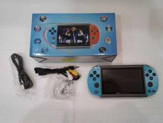 TFT Широкоформатный, приставка PSP X9. Геймпад 1000 игр, консоль