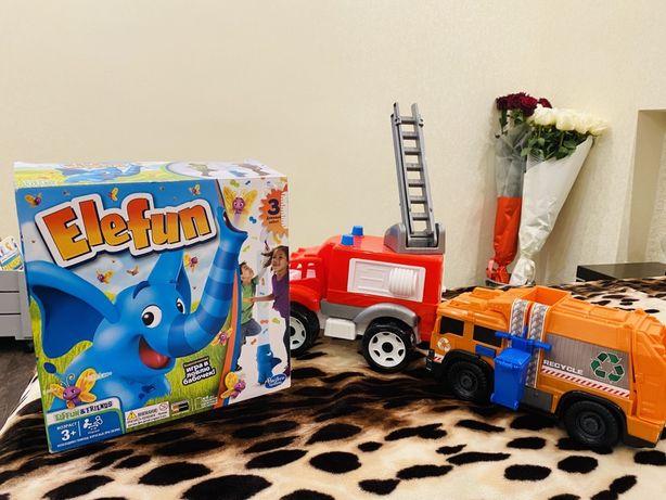 Мусоровоз пожарная машина слон