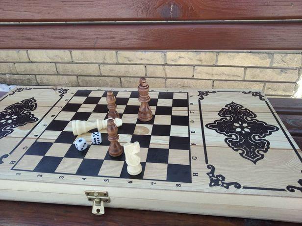 Нарды Шахматы 55#55см