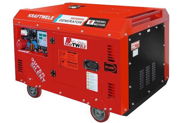 Дизельний генератор 16кВa/ 3-фаз KRAFTWELE GERMANY- Доставка