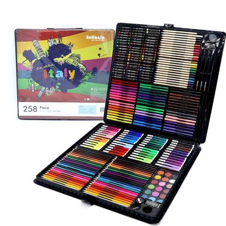Подарок для ребенка !!! Набор для рисования 258 предметов