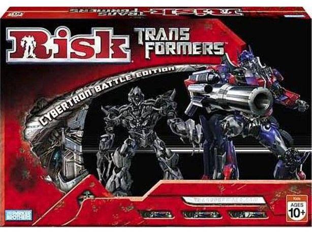 Risk Transformers Cybertron Battle Edition | Risco | Jogo de Tabuleiro