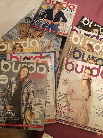 Burda журнал с выкройками