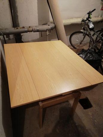 Stół rozkładany duży ława używany drewniana konstrukcja