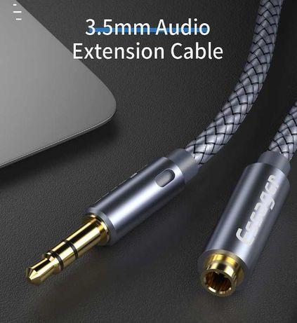 Essager 3,5 мм -  удлинитель, aux кабель, 5 метров