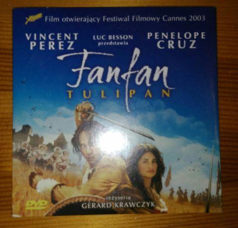 """Film przygodowy DVD pt. """"Fanfan Tulipan"""" / za czekoladę."""