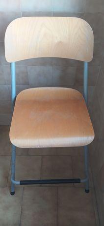 3 Cadeiras altas 60cm