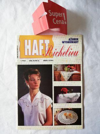 """miesięcznik """"haft Richelieu"""" 1/1995"""