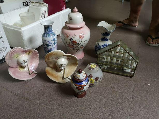 Jarros/potes/figuras de decoração