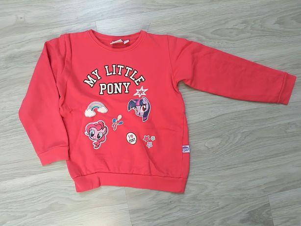 Bluza my Little pony 122/128 cm jak nowa