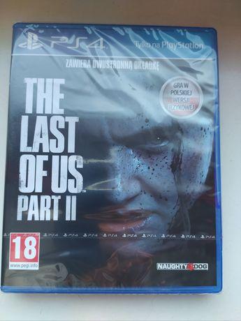 The Last Of Us 2 PL PS4 nowa w folii