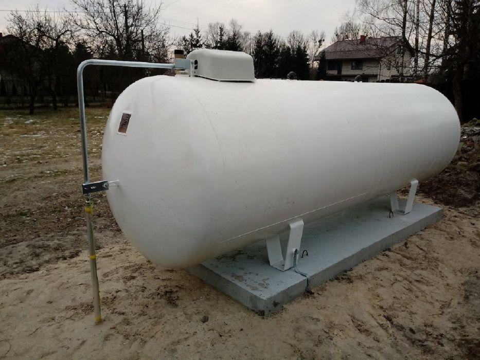 Zbiornik na gaz płynny propan 2700 ,4850 l , montaż, zbiornik gazowy Tomaszów Mazowiecki - image 1