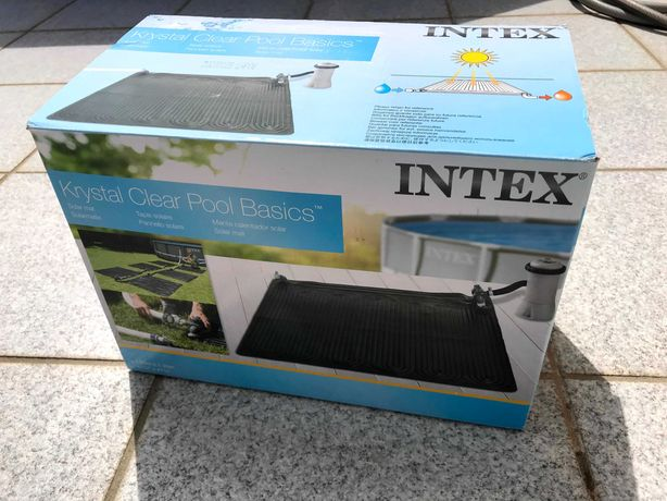 Tapete Aquecedor Solar de Água 120cm Intex para piscina #NOVO