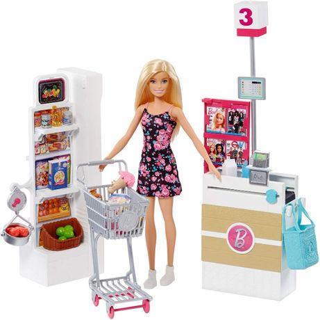 Игровой набор Барби супермаркет