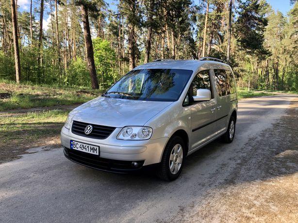 Автомобиль Volkswagen Caddy Life 1.4 MPI 2009 ORIGINAL PASS