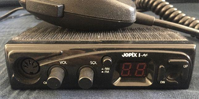 Radio CB Jopix com antena President
