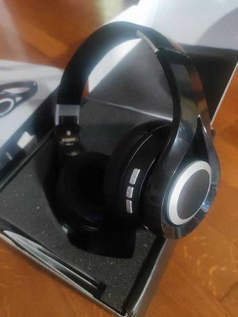 Auscultadores Fones Headphone Gaming Bluetooth Stereo NOVOS EM CAIXA