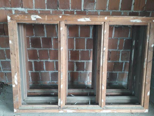 Okna skrznkowe drewniane