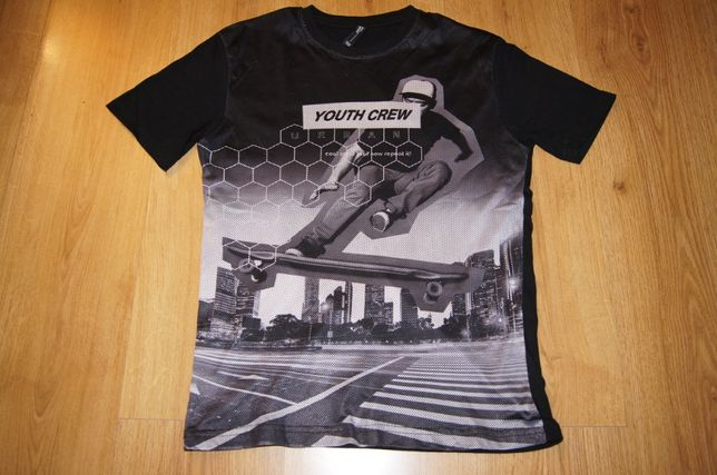 T-shirt roz. 158 Reporter Young