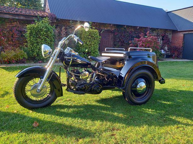 Harley Davidson Servicar Trajka Trike 1963r