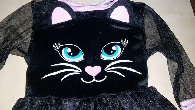 Strój kotka, kot bal karnawałowy