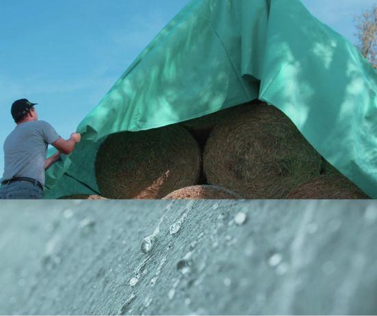 FLIZ do SŁOMY - przykrycie na belki, chroni przed deszczem 10,40x25 m