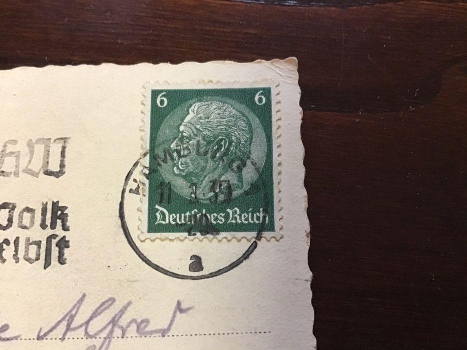 Selos carimbado Alemanha 11/3/1939 Vila do Porto - imagem 1